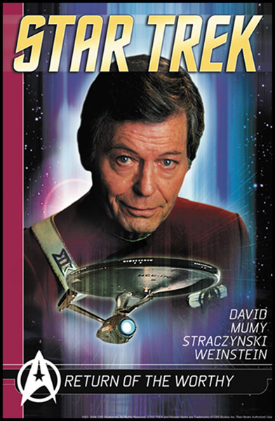 Image: Star Trek Comics Classics Vol. 04: Return of the Worthy SC  - Titan Publishing