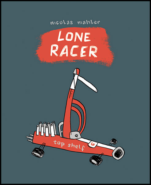 Image: Lone Racer SC  - Top Shelf Productions