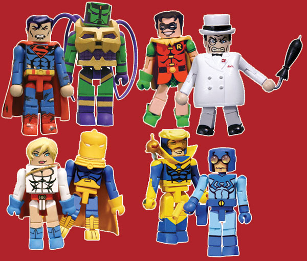 Image: DC Minimates Series Two Set  (4) -