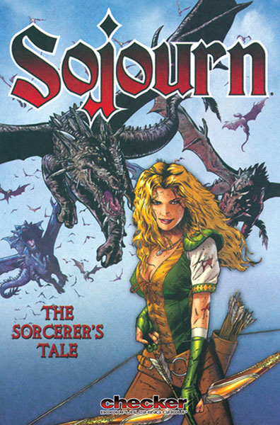 Image: Sojourn Vol. 05: A Sorcerer's Tale SC  - Checker Book Publishing Group