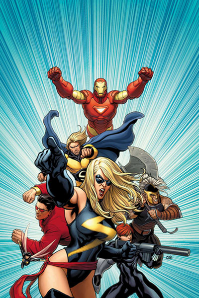 Image: Mighty Avengers #1 Cho Poster  - Marvel Comics
