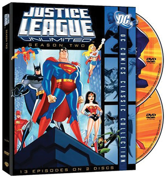 Image: Justice League Unlimited Season 2  (DVD) -
