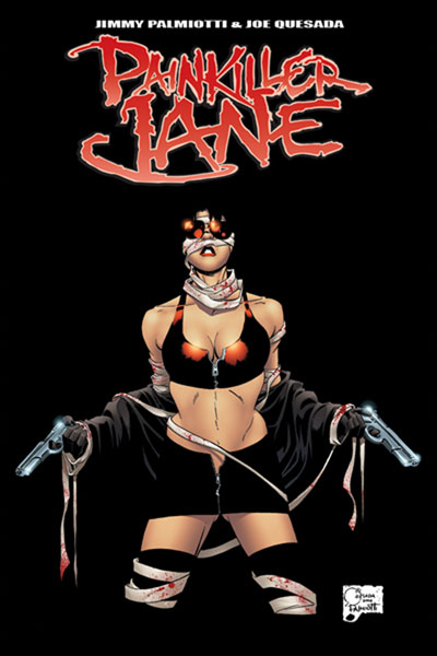 Image: Painkiller Jane Vol. 1 SC  (Previews Exclusive cover) - D. E./Dynamite Entertainment