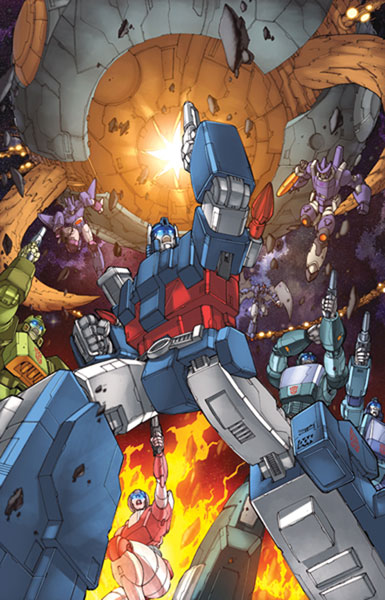 Image: Transformers: The Animated Movie SC  - IDW Publishing
