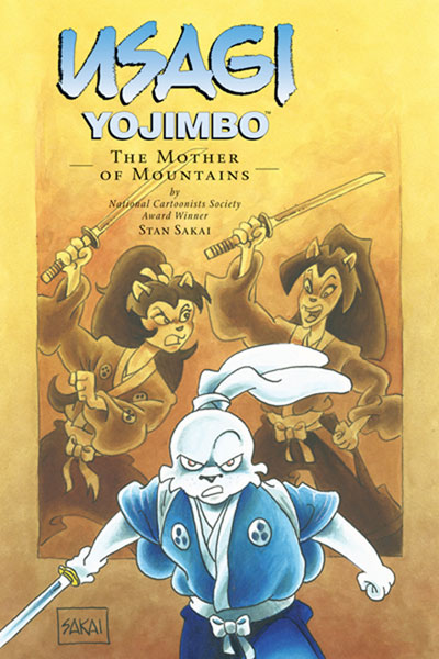 Image: Usagi Yojimbo Vol. 21: The Mother of Moutains SC  - Dark Horse Comics