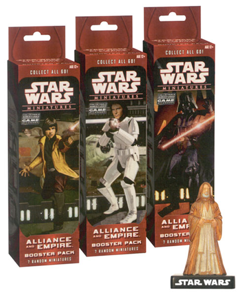 Image: Star Wars CMG Miniature: Alliance and Empire Booster Pack  -