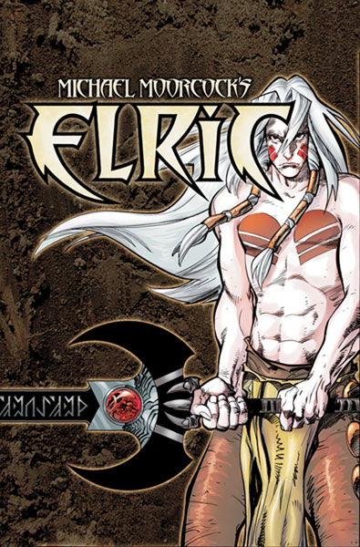 Image: Michael Moorcock's Elric: The Making of a Sorcerer SC  - DC Comics