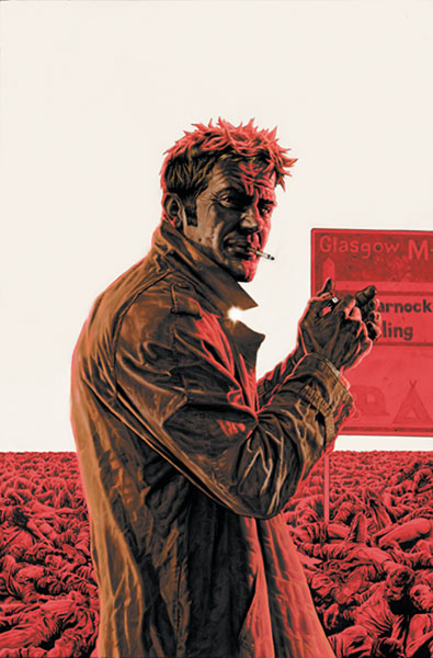 Image: John Constantine, Hellblazer: The Red Right Hand SC  - DC Comics