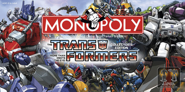 Image: Monopoly: Transformers Collection Edition  -