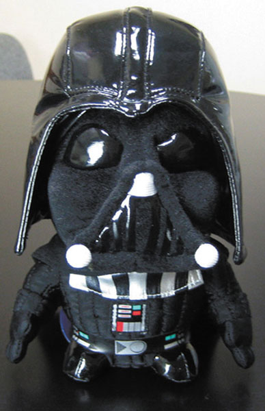 Image: Star Wars Darth Vader Super Deformed Plush  -
