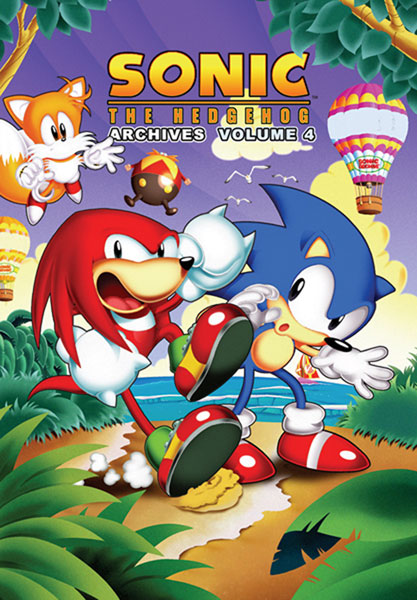 Image: Sonic the Hedgehog Archives Vol. 04 SC  - Archie Comic Publications