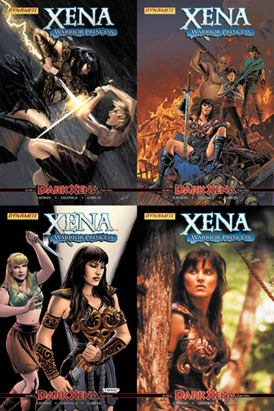 Image: Xena Vol. 2 #2 - D. E./Dynamite Entertainment