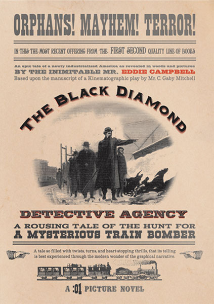 Image: Black Diamond Detective Agency SC  - :01 First Second