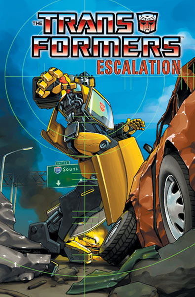 Image: Transformers: Escalation SC  - IDW Publishing