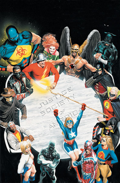 Image: Justice Society of America: The Next Age HC  - DC Comics