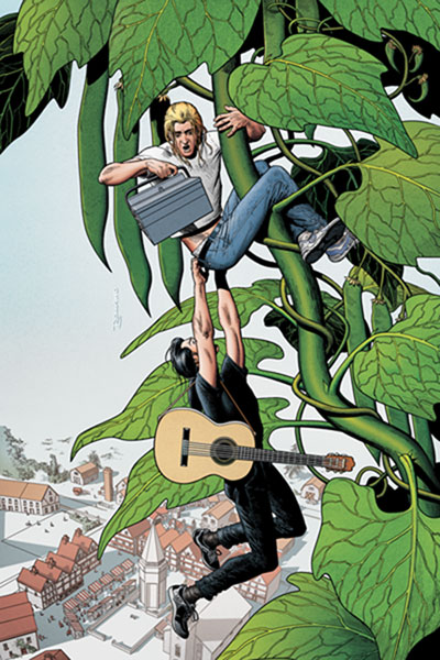 Image: Jack of Fables #14 - DC Comics - Vertigo