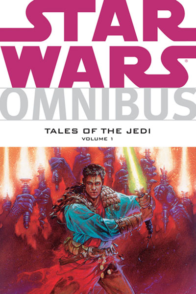 Image: Star Wars Omnibus: Tales of the Jedi Vol. 01 SC  - Dark Horse Comics