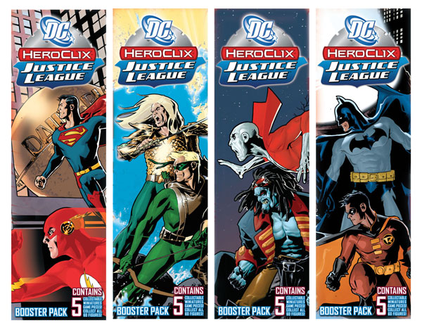 Image: DC Heroclix Booster Pack: Justice League  -