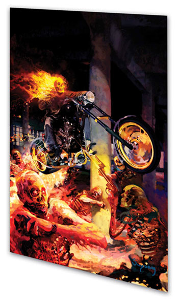 Image: Ghost Rider Vol. 02: The Life & Death of Johnny Blaze SC  - Marvel Comics