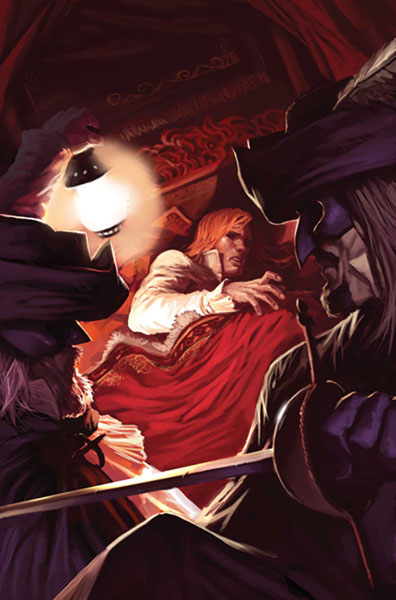 Image: Marvel Illustrated: Man in the Iron Mask #2 - Marvel Comics