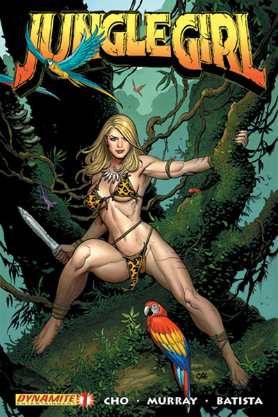 Image: Jungle Girl - PX Ed. Frank Cho cover #1 - D. E./Dynamite Entertainment