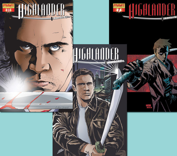 Image: Highlander-Laguna Cover #11 - D. E./Dynamite Entertainment