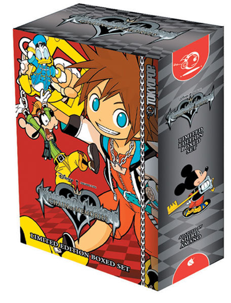 Image: Kingdom Hearts: Chain of Memories Complete Series Box Set  - Tokyopop