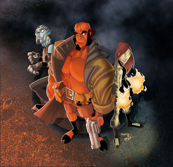 Image: Hellboy Animated Vol. 03: The Menagerie SC  - Dark Horse Comics