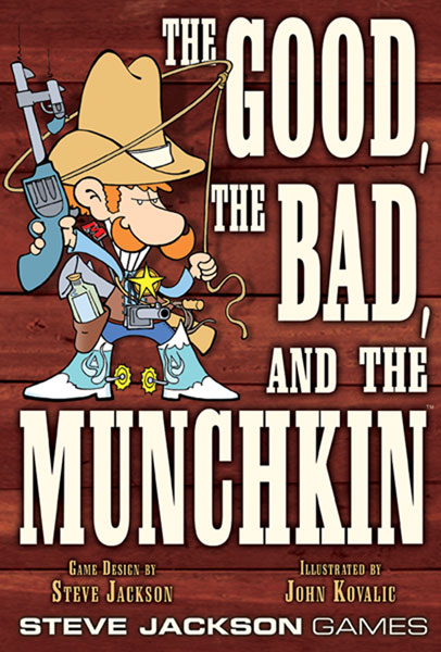 Image: Good, the Bad and the Munchkin Card Game  - Steve Jackson Games