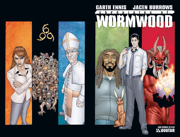 Image: Chronicles of Wormwood SC  - Avatar Press Inc