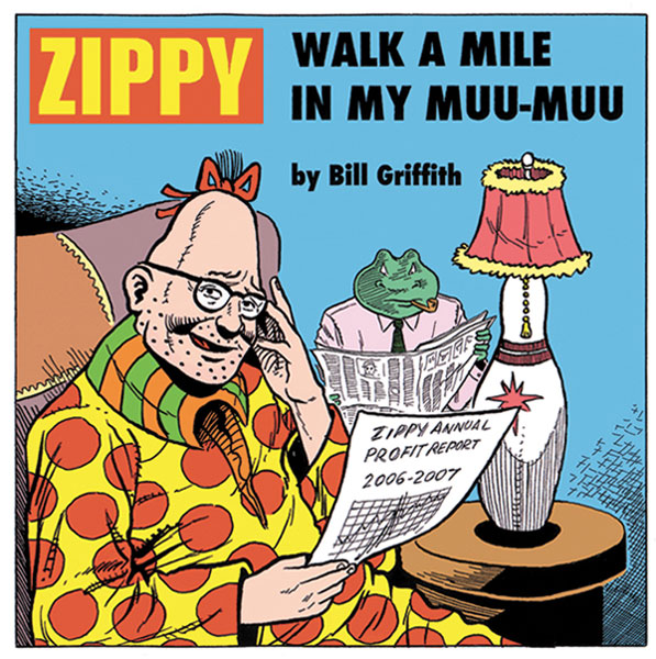 Image: Walk a Mile in My Muu-Muu - Zippy SC  - Fantagraphics Books