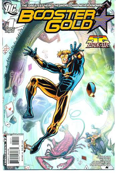 Image: All-New Booster Gold  #1 (Arthur Adam's variant cover) - DC Comics
