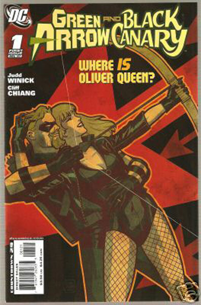 Image: Green Arrow And Black Canary #1 (variant cover) - DC Comics