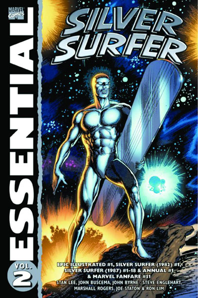 Image: Essential Silver Surfer Vol. 02 SC  - Marvel Comics