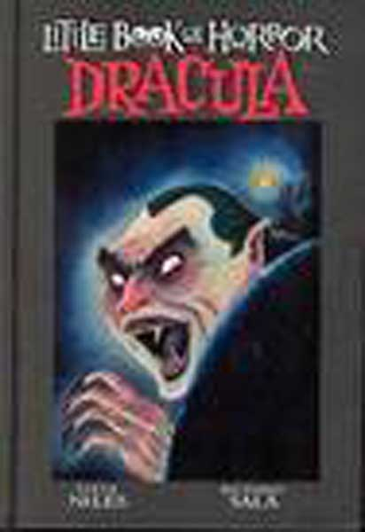 Image: Little Book of Horror Dracula HC  - IDW Publishing