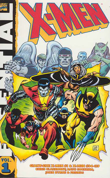 Image: Essential X-Men Vol. 1 SC  (new printing) - Marvel Comics