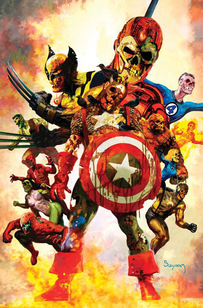 Image: Marvel Zombies Poster: Dead Days  - Marvel Comics