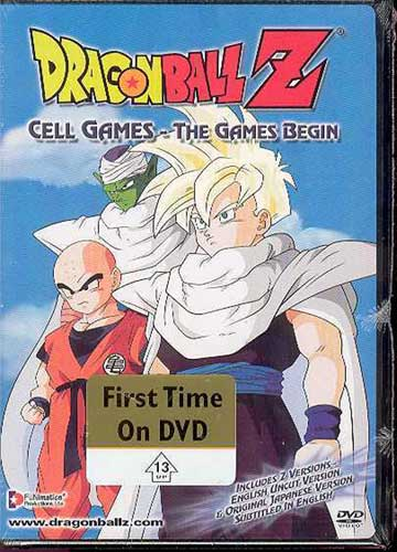 Image: Dragonball Z Vol. 50: Cell Games: Games Begin - Uncut DVD  -