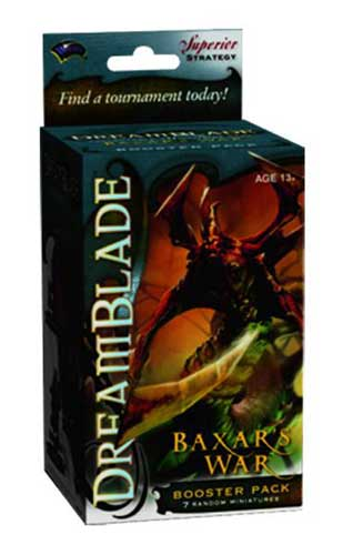 Image: Dreamblade CMG Baxar's War Booster Pack  -