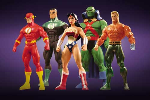 Image: JLA Classified Series 1 Action Figure Set  (5) -