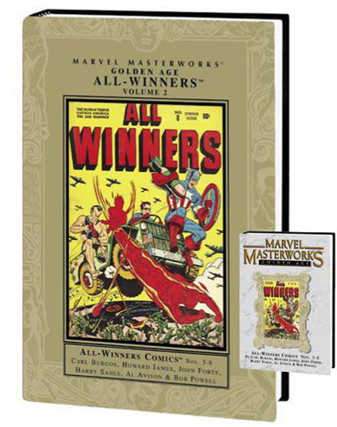 Image: Marvel Masterworks: Golden Age All-Winners Vol. 2  (variant hc) - Marvel Comics