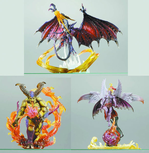 Image: Final Fantasy Master Creatures Assortment 1 Case  (12 figures) -