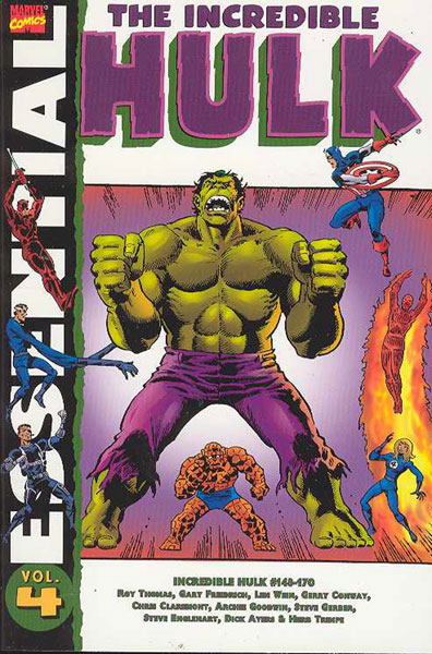 Image: Essential Hulk Vol. 04 SC  - Marvel Comics
