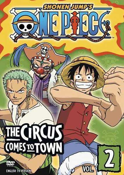 Image: One Piece Vol. 2 DVD  -