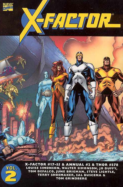 Image: Essential X-Factor Vol. 02 SC  - Marvel Comics