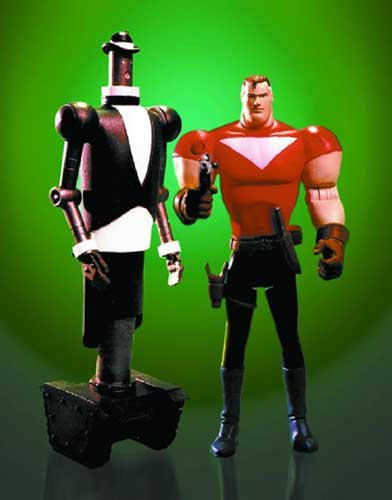 Image: Tom Strong Deluxe Action Figure Set  -