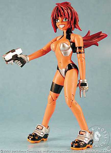 Image: Dirty Pair Action Figure: Kei  - Dark Horse Comics