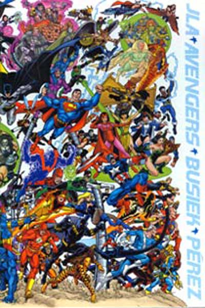 Image: JLA / Avengers: Collector's Edition  (Oversized hc w/Slipcase) - DC Comics