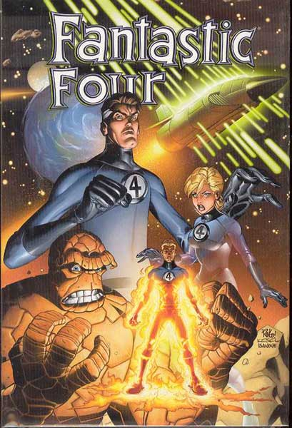 Image: Fantastic Four Vol. 01 HC  - Marvel Comics