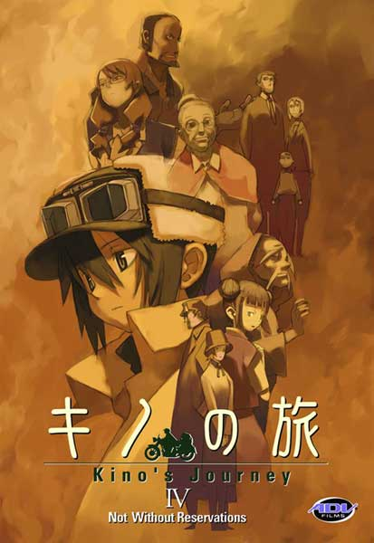 Image: Kino's Journey Vol. 04: Not Without Reservations DVD  -